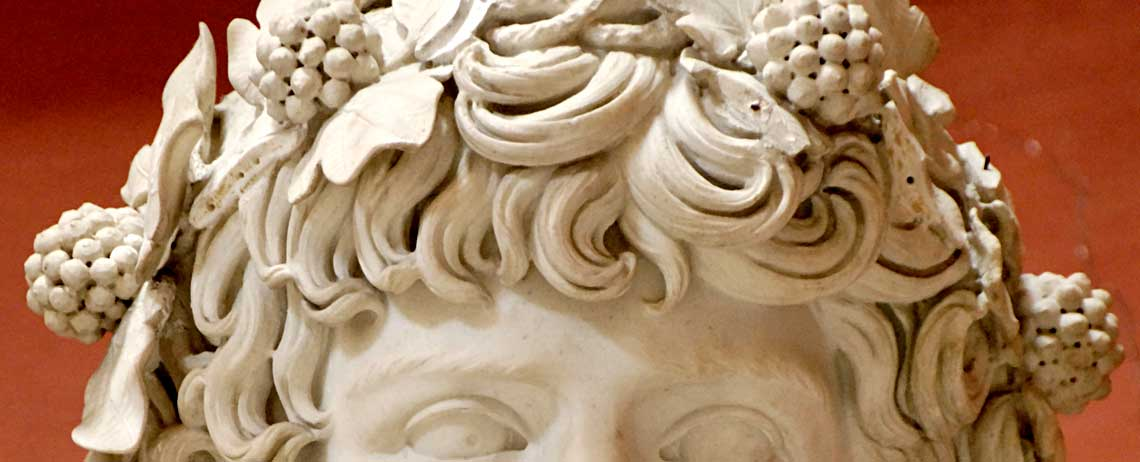 Detail of The Braschi Antinous - Vatican Museums