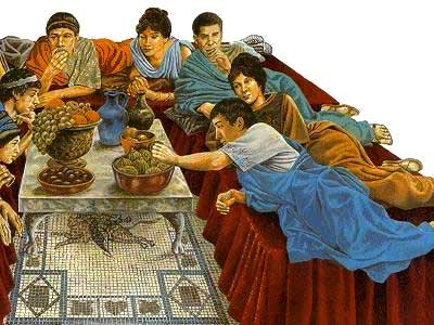 Feasting Roman Style - Eyes of Rome