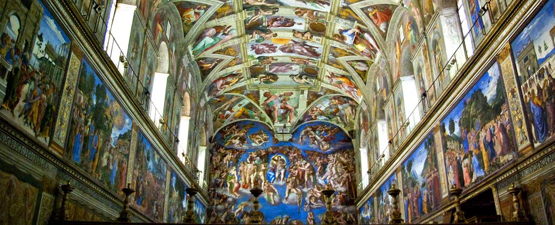 The Sistine Chapel, Seat of the Conclave