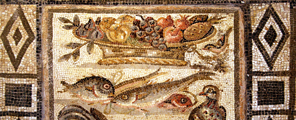 Mystery Mosaic in Palazzo Massimo alle Terme