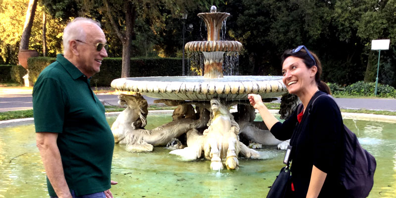 The fountain of youth- finally found in Rome!